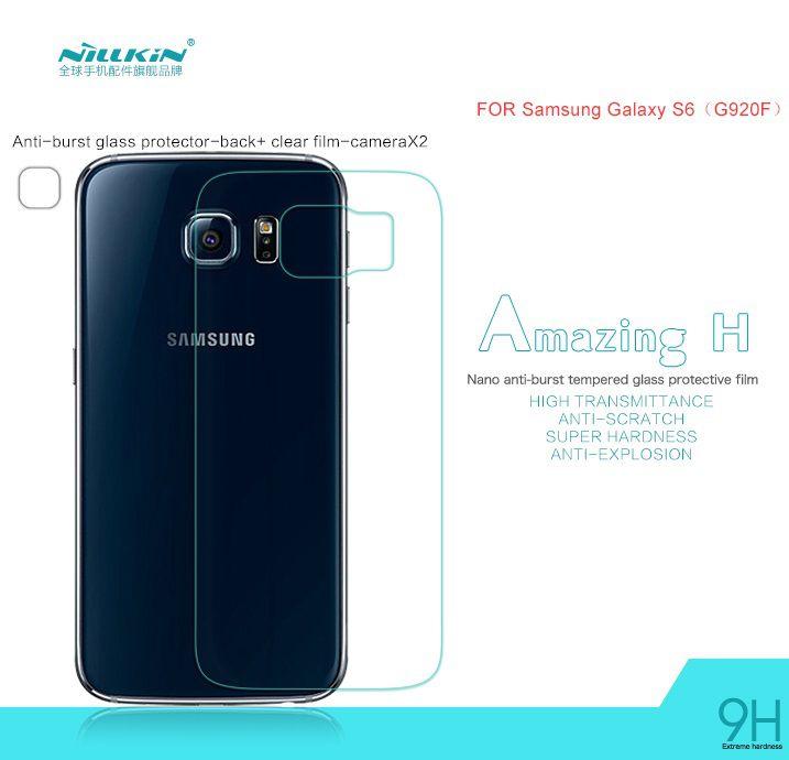 độ cứng của Kính cường lực Galaxy S6 Edge Nillkin là 9H